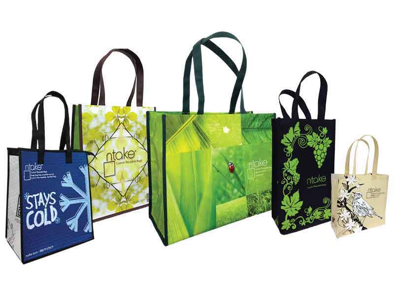 N'Take Custom Reusable Bags - Various Sizes